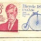 Bicycle Coil Stamp 5.9 cent FDI SC 1901 First Day Issue Transportation Issue