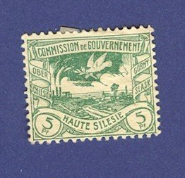 Upper Silesia 1 stamp from 1920