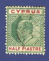 Cyprus 1 stamp from 1903 or 1904