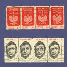 United States Stamps 2 Sets of horizontal strip of 4  Packet No 32645
