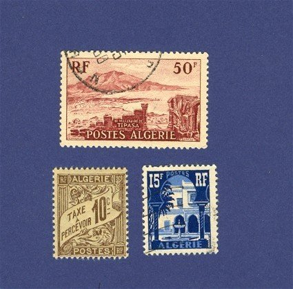 Algeria French Colony Packet No 2411 with 3 stamps