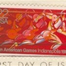 1987 Pan American Games Stamp 22 cent FDI SC 2247 First Day Issue