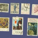 Poland Packet No 1497 with 7 stamps