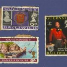 Guernsey 3 stamps