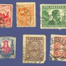 Lithuania 6 stamps