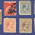 Philippine Islands 7 Stamps from 1890 to 1922  Packet No 2558