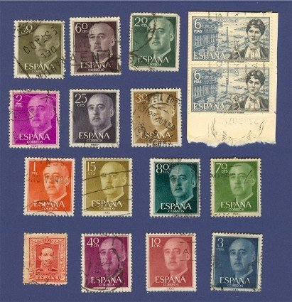 Spain Packet No 3494 with 15 Stamps