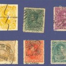 Venezuela 6 Stamps from 1879 to 1899  Packet No 1
