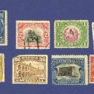 Guatemala 8 Stamps  1902 to 1923