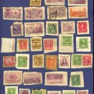 United States 34 Stamps on Envelopes  Packet No 11711