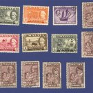 Malaysia 12 stamps