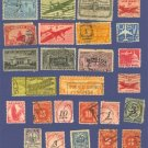US Special Delivery and Air Mail Packet with 26 stamps