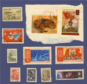 Russia Packet No 1490 with 10 stamps
