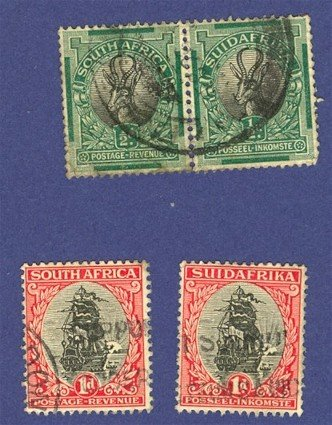 South Africa 4 Stamps  Packet No 2573