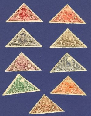 Nyssa  9 Stamps
