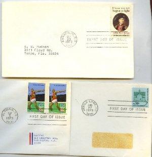 1979 7 FDI Architecture Olympics John Paul Jones First Day Issue Packet