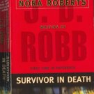 Survivor in Death by J D Robb    Eve Dallas and Roarke mystery
