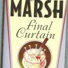 Final Curtain by Nagio Marsh   Inspector Roderick Alleyn Mystery