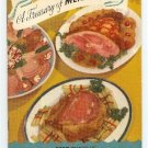 Treasury of Meat Recipes from National Live Stock Meat Board  Fiesta