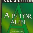 A is for Alibi by Sue Grafton  Kinsey Millhone Mystery