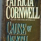Cause of Death by Patricia Cornwell   Kay Scarpetta Mystery