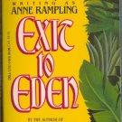 Exit to Eden Anne Rampling Anne Rice
