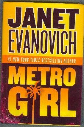 Metro Girl by Janet Evanovich  Alex Barnaby Mystery Hardback