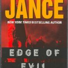Edge of Evil by J A Jance Hardcover Alison Reynolds Mystery