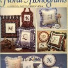 Floral Monograms by Mary Vosburg Zdrodowski Counted Cross Stitch