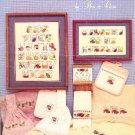 Kitchen ABCs by Bea and Chris Counted Cross Stitch