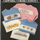 Apparel Cross Stitch Sweatshirt Collection Janlynn