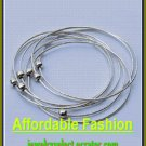 Sterling Silver Bangle Bracelet  No.01
