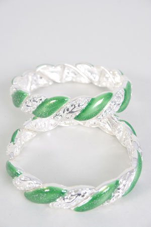 SALE� Fashion Bracelets No.06D- 21010SI