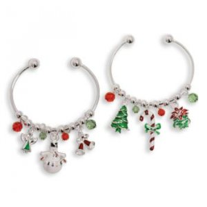New!     Wholesale Holiday Danglers Bracelet