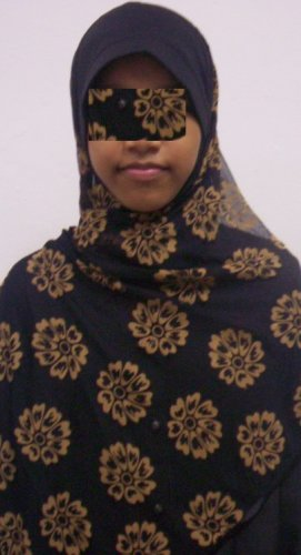 New~1pc Kuwaiti Hijab~Amira~Mona~Muslim/Islamic Head Scarf~Tudung~Kleidung (ID 3361-BG)