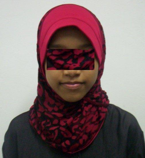 New~1pc Kuwaiti Hijab~Amira~Mona~Muslim/Islamic Head Scarf~Tudung~Kleidung (ID 3361-R)