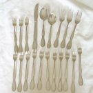 20 Pieces Oneida Northland Stainless Flatware Colonial Boutique Free Shipping