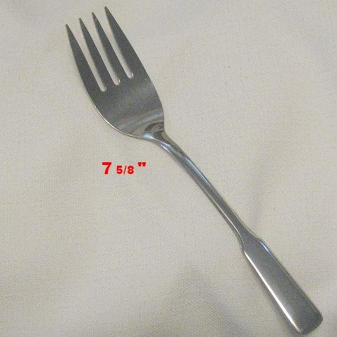 Cold Meat Serving Fork  Wm A Rogers by Oneida Stainless Flatware  Friendship Free Shipping