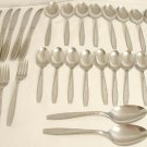 29 Pieces Oneida S.L. & G.H. Rogers Stainless Flatware Seaflower Free Shipping