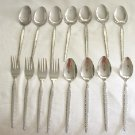 15 Pieces Rogers Co. Stanley Roberts Stainless Flatware  Ensenada Free Shipping