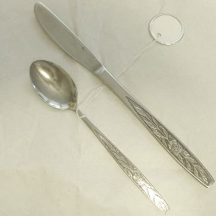 Teaspoon, Place Knife Stanley Roberts Stainless Flatware Granata Free Shipping