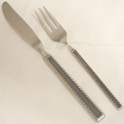 2 Pieces Towle Supreme Cutlery Stainless Flatware Route 1 Free Shipping