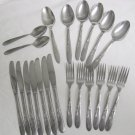 21 Pieces Utica Stainless Flatware UTI9 Free Shipping