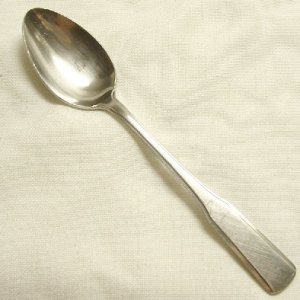 Place Soup Spoon Reed and Barton Rebacraft Stainless Flatware Colonial Hall Free Shipping