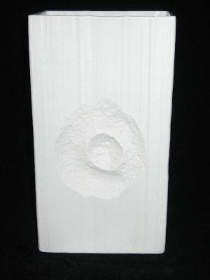 Rosenthal Studio Line Martin Freyer LARGE Porcelain Fossil Vase Mid-Century