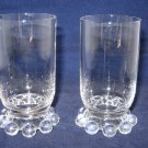 Imperial Candlewick Pair of Juice Glasses - Stem #400/19