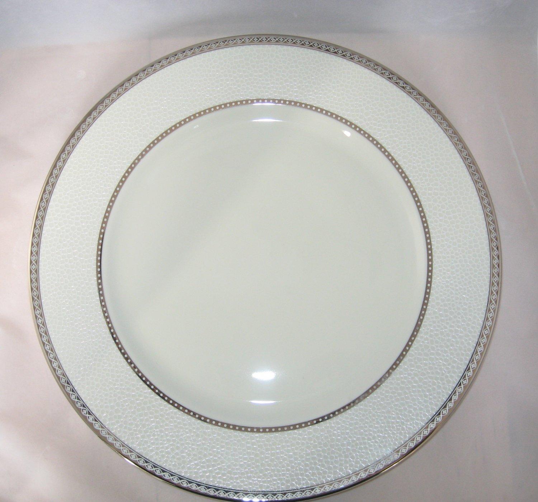Mikasa Imperial Flair Platinum Platter Chop Plate NWT New w/Label