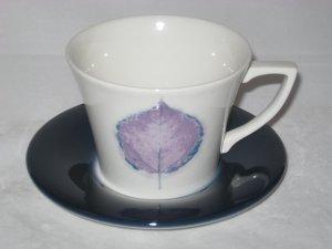 Portmeirion DUSK Cup and Saucer Set - as new