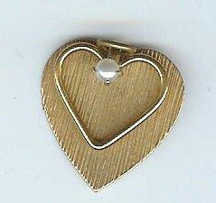 heart on heart pendant vintage 12kg