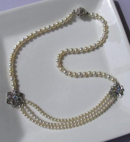 Necklace - DEWDROP Sterling Silver